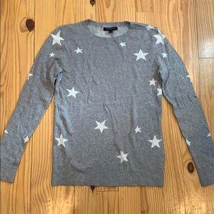 Banana Republic Gray Star Sweater